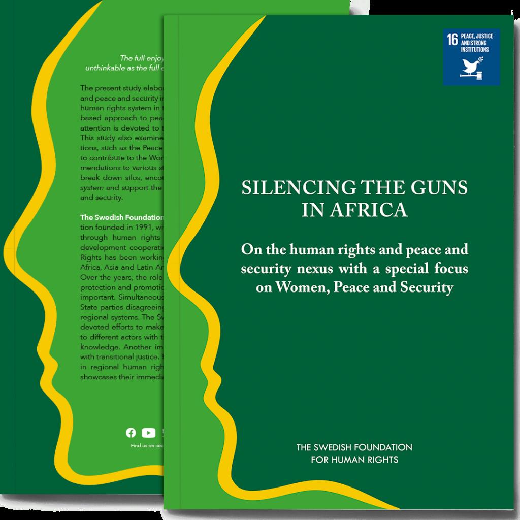 Omslaget till boken Silencing the Guns in Africa
