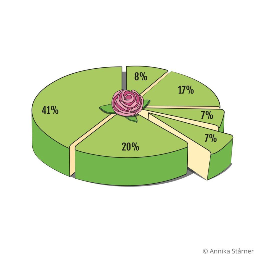 Illustrerat tårtdiagram