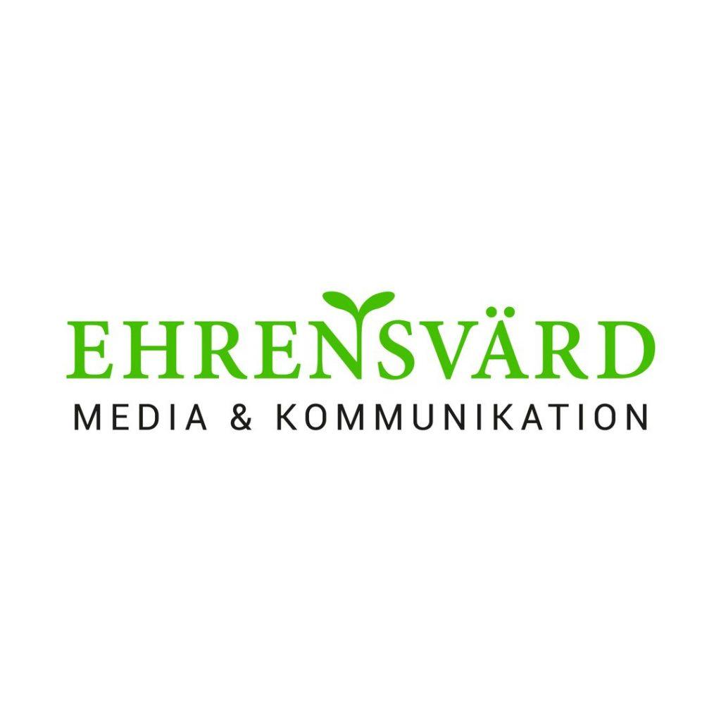 Logotyp Ehrensvärd Media & Kommunikation